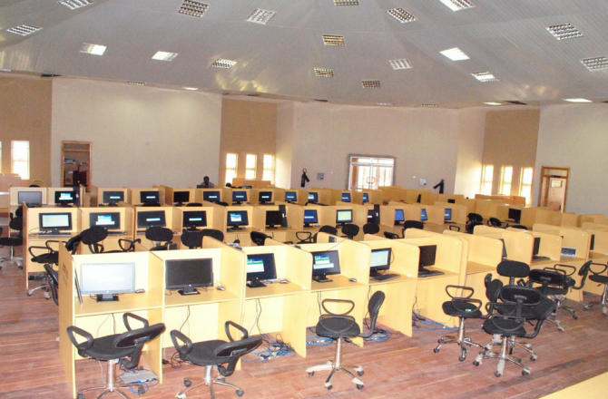 PROCUREMENT OF FURNITURE ITEMS AND HARDWARE COMPONENT FOR THE E-LIBRARY BUILDING